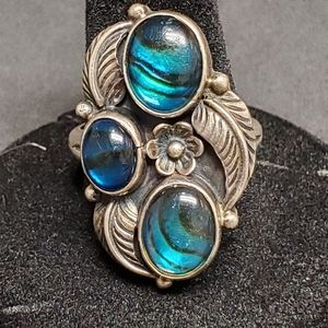 Sterling Silver Ring S.W. Native American Style